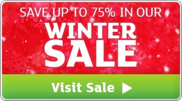 Banner: Winter Sale - Save up to 75%