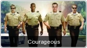 Banner: Courageous DVD