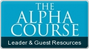 Banner: Alpha Course Leader & Guest Resources