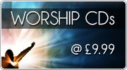 Worship CDs on offer at  �9.99