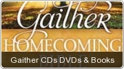 Banner: Gaither Music CDs, DVDs and Books