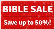 Save up to 50% with the Eden.co.uk Bible Sale