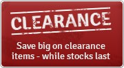 Clearance Sale - Save up to 90%