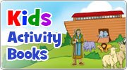 Banner: Activity & Colouring books for Children