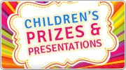 Great ideas for children's prize givings and presentations