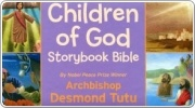 Banner: Children of God Storybook Bible from Archbishop Desmond Tutu