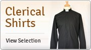 Banner: Clerical Shirts for Men & Women
