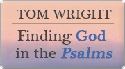 Banner: Finding God in the Psalms