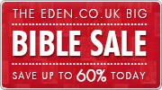 Banner: Save up to 50% with the Eden.co.uk Bible Sale