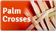 Banner: Palm Crosses