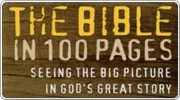 Banner: The Bible in 100 Pages