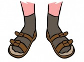 Ask Derek the Cleric: Socks and sandals?