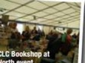 Bookshop in a marquee