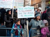Peace Campaigners Stage Rally