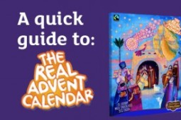 An introduction to The Real Advent Calendar from The Meaningful Chocolate Company