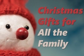 Save the hassle of rushing around shops with our specially selected Christmas Gifts for all the Family.