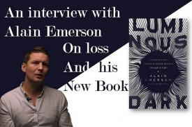 We ask Pastor and writer Alain Emerson about working through loss, and his new book Luminous Dark.