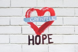 A collection of stories from people affected by the Grenfell Tower fire, Grenfell Hope by Gaby Doherty shares the story of the months following the disaster.