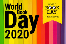Get your diaries ready for world book day 2019