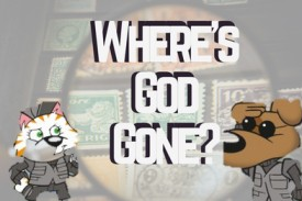 Andy Robb introduces his new book, Where's God Gone?