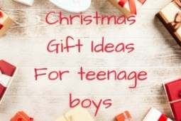 A teenager gives his opinion on the best gifts for teenage boys this Christmas