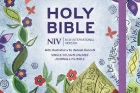 Introducing the NIV Journaling Bible illustrated by artist, Hannah Dunnett