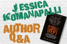 Q&A with author Jess Komanapalli about her biography of Theodore Mbazumutima during the Burundian Civil War