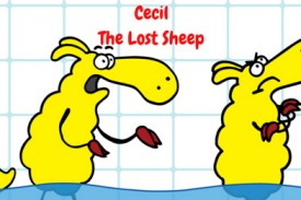 Cecil the lost sheep introduces the Lost Sheep Series for children.