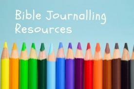 Bible Journalling Supplies