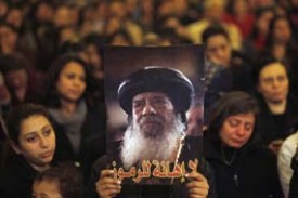 Pope Shenouda III has died