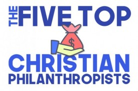 We take a look at UK based Christians who have given generously to good causes around the world.