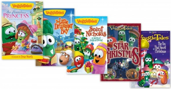 Veggie Tales Christmas DVDs