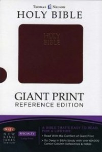 NKJV Budget Reference Bible: Giant Print