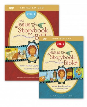 Jesus Storybook Bible Vol 1 and 2