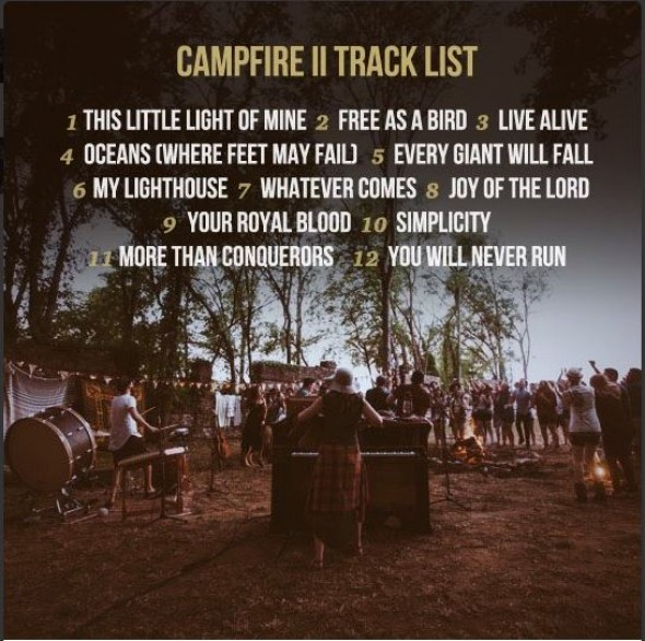Rend Collective Release Campfire II Tracklist