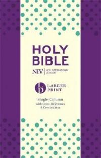 NIV Larger Print Compact Single Column Refere