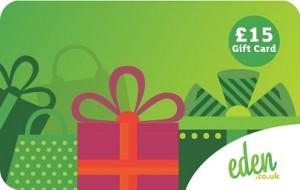 £15 Eden Gift Gard