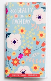 See Beauty in Each Day 28-Month Planner