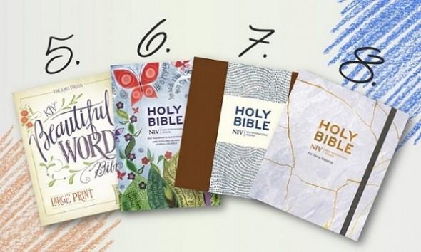 Journaling Bibles 5678