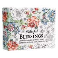 Colourful Encouragement Blessing Cards