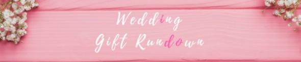 wedding gift ideas, wedding gift