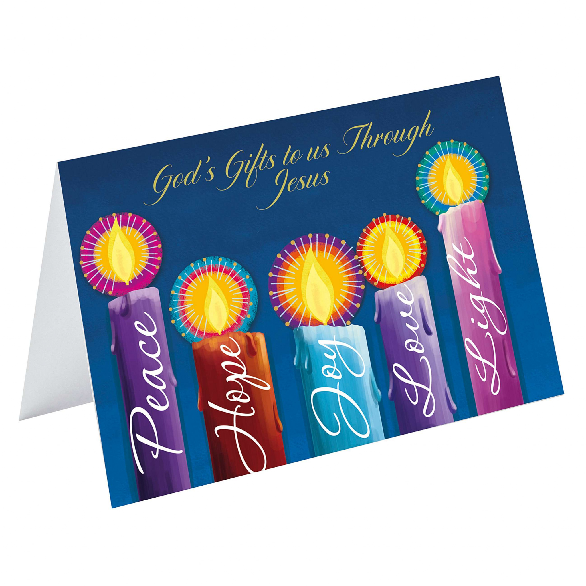 God's Gifts Charity Christmas Cards Pack of 10   Free ...