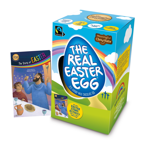 The Real Easter Egg Faitraide Christian Chocolate Egg