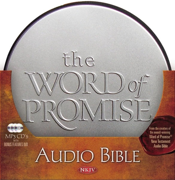 NKJV The Word of Promise MP3 audio Bible | Free Delivery @ Eden co uk