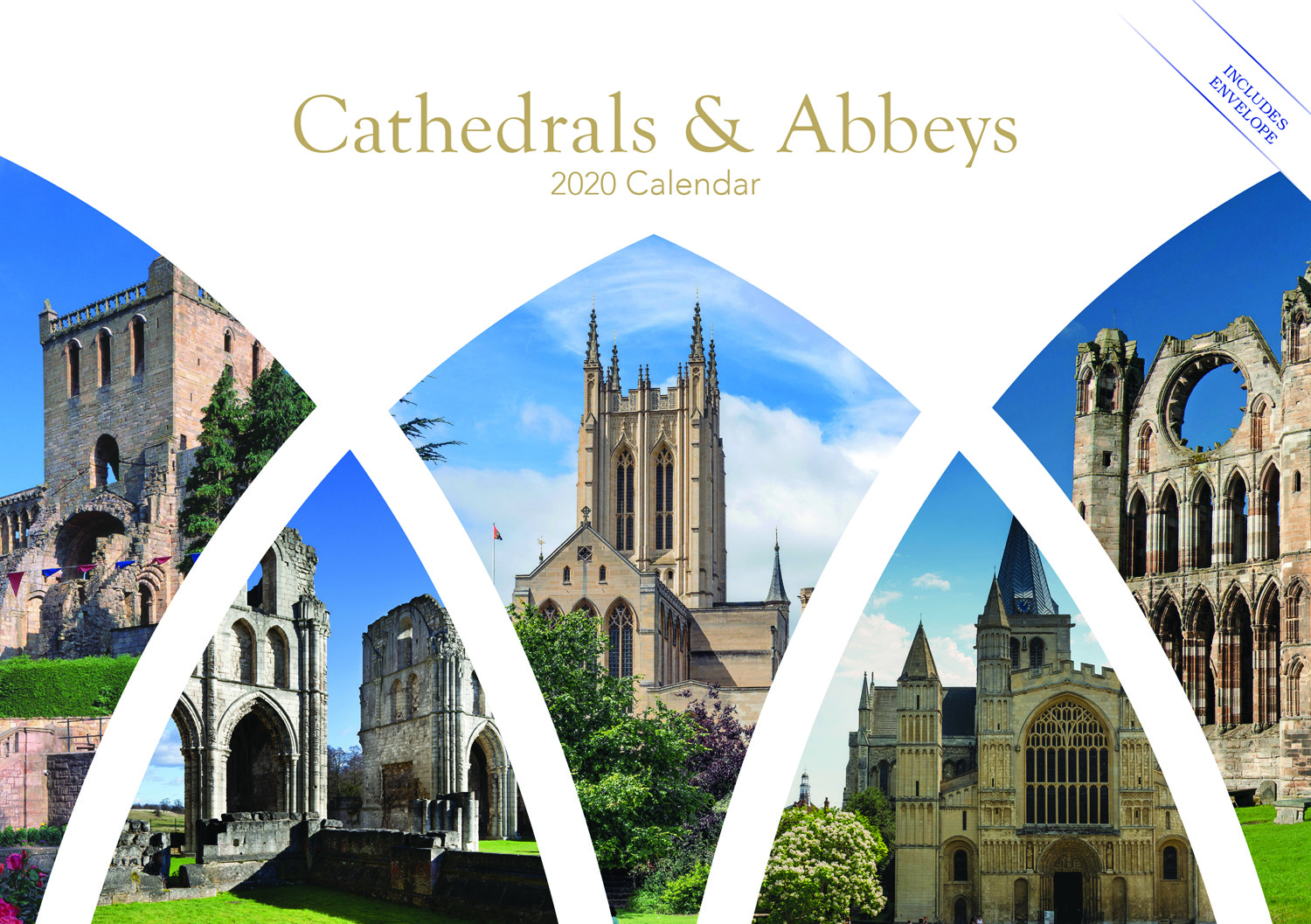 Cathedrals And Abbeys A5 2020 Calendar