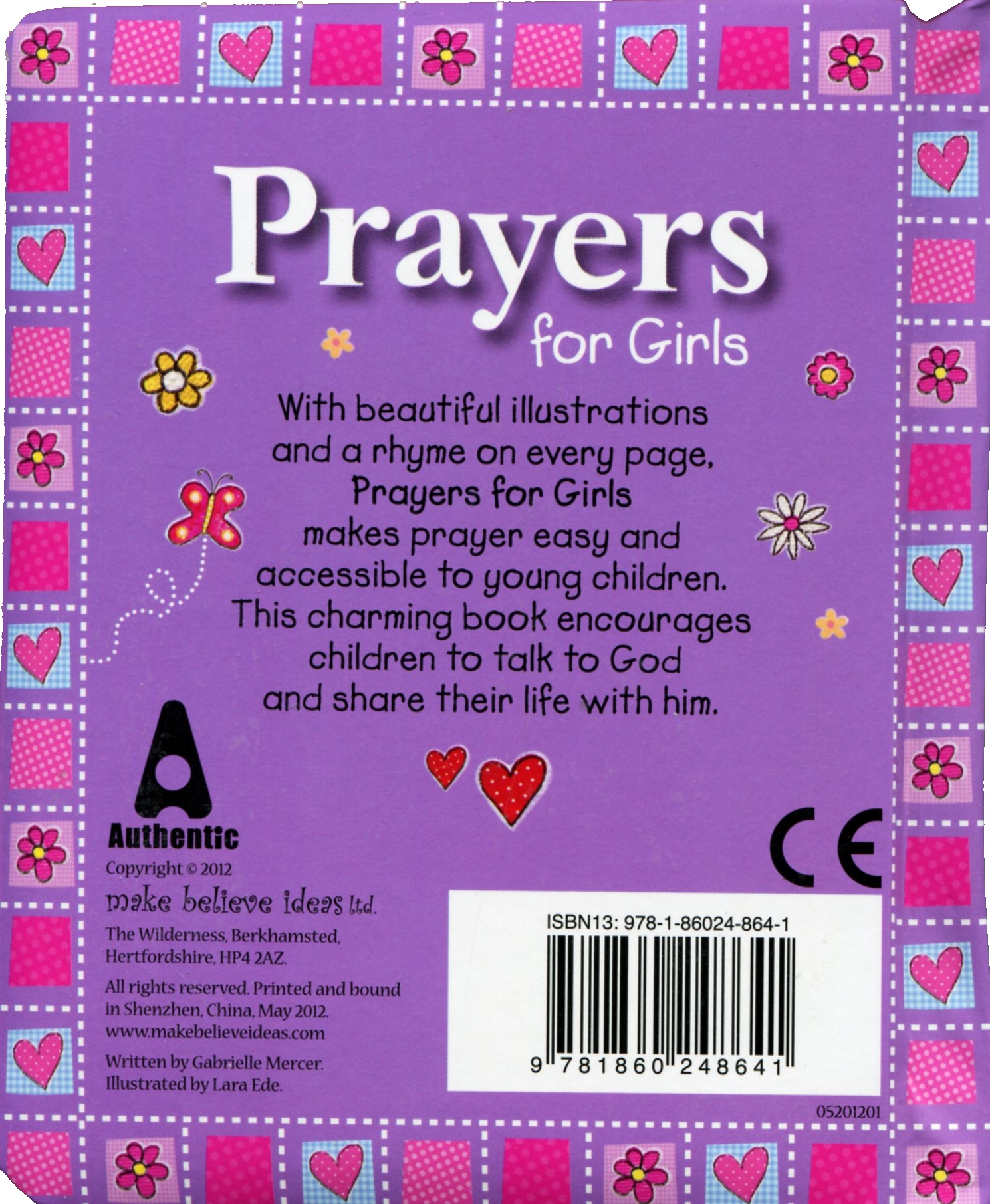 Prayers For Girls Board book