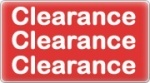 Banner: Clearance Sale - Save up to 75%
